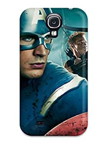 Forever Collectibles Captain America In Avengers Movie Hard Snap-on Galaxy S4 Case