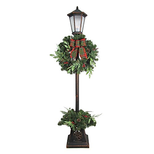 Outdoor Lighted Potted Tree - 2