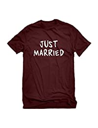 Indica Plateau Just Married Mens T-Shirt
