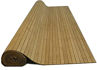 4' x 8' Bamboo Paneling Carbonized