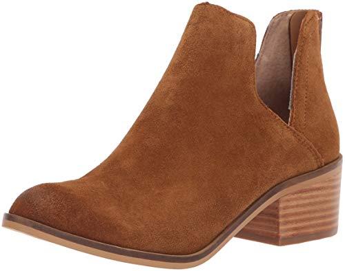 Suede Lancaster Steve Madden 7 M Women's Cognac Us Boot Western FFYAB