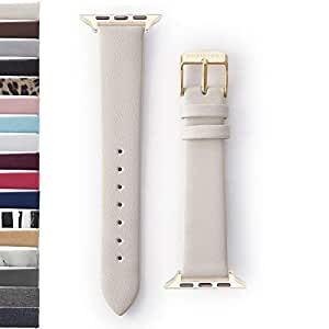 Amazon.com: WRISTOLOGY Apple Watch 38mm Gold Womens