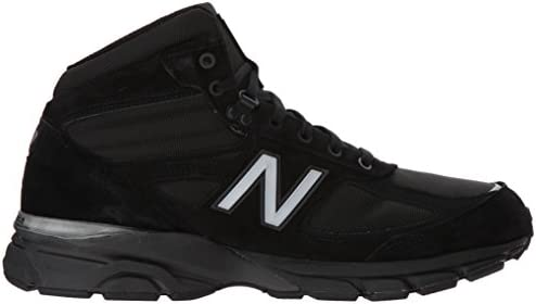 official photos 3c9f1 69004 New Balance Mens MO990BK4 990v4 Boot 7 XW US Black: Amazon ...