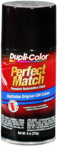 Dupli-Color EBGM04497 Dark Cherry Metallic General Motors Exact-Match Automotive Paint - 8 oz. Aerosol