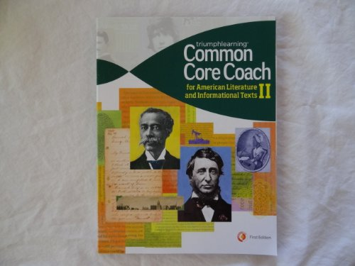 Common Core Coach for American Literature and Informational Texts II