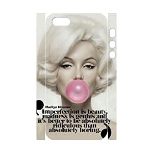 Marilyn Monroe Quote DIY 3D Case Cover for Iphone 6 plus,Marilyn Monroe Quote custom 3d case cover