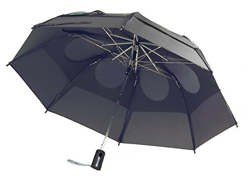 (GustBuster Metro 43-inch Wind Resistant Automatic Umbrella Suit)