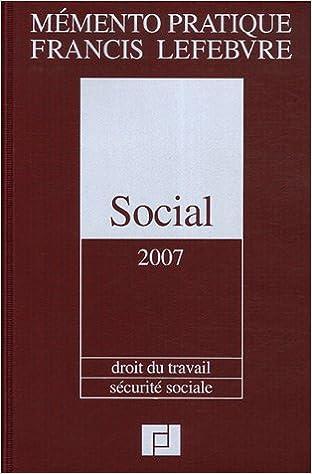 Social : Droit du travail, Sécurité sociale pdf