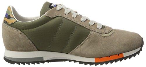 Blauer USA Runlow, Sneaker Basse Uomo Verde (Militare Green)