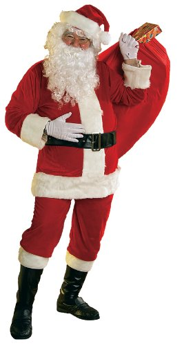 (Rubie's Adult Velour Santa Suit With Wig/Beard, XX-Large)