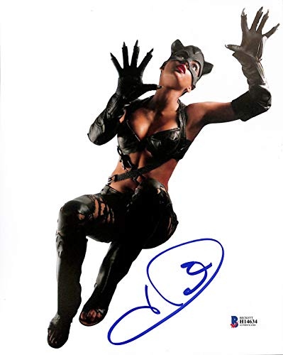 - Halle Berry Catwoman Sexy Authentic Signed 8x10 Photo Autographed BAS #H14634