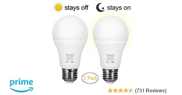 Sensor Lights Bulb Dusk To Dawn Led Light Bulbs Smart Lighting Lamp
