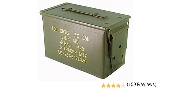 Texto original en la caja de municiones usadas Ejército de los ...