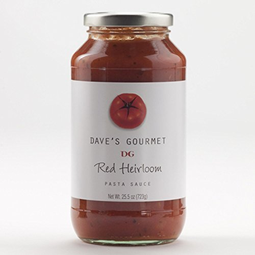 Daves Gourmet Sauce Psta Red Heirloom Org