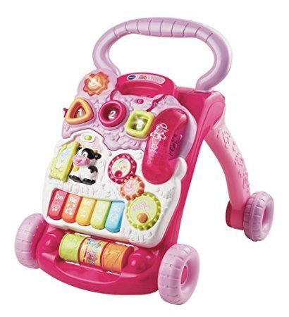 Vtech Sit To Stand Learning Walker (VTech 80-077050 Sit-to-Stand Learning Walker-Pink Toy)
