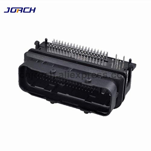 Gimax 1set 81pin tyco ECU electronic control unit connector for 1J0906385C 1J0 906 385 C 81 way PCB connectors 1-368255-1 - (Package: 1 set)