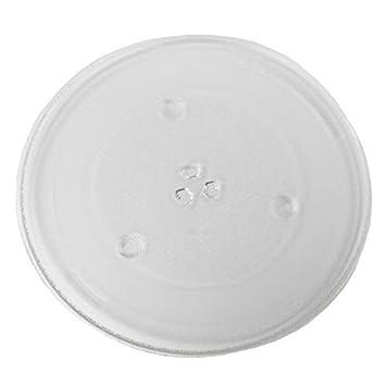Reliapart - Plato giratorio de cristal para horno Panasonic microondas (345 mm)