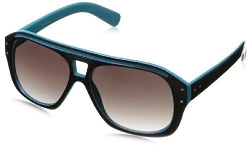 MLC Eyewear Hip Pop Shield Sunglasses,Blue,55 - For Men Hip Sunglasses