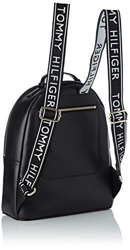 Sacs x dos Hilfiger B T Black H à 5x31 13x33 femme Backpack Noir Iconic Tommy cm qHtfw