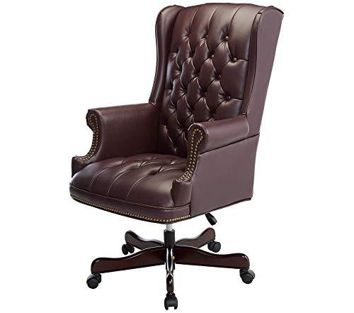 - Deluxe Premium Collection Vinyl Swivel Executive Chair 30
