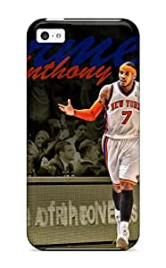 Tough Iphone ZzOGtBC680loMJk Case Cover/ Case For Iphone 5c(carmelo Anthony)