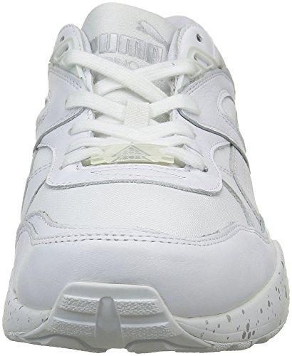 Puma Zapatilla silver Unisex R698 Adulto Blanco white Blanc Speckle Baja ppBgO