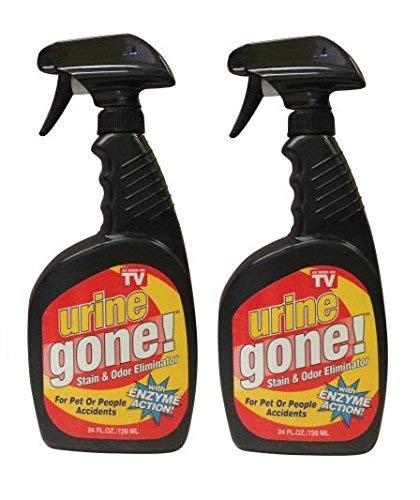Urine Gone Stain & Odor Eliminator, 24 oz (Pack of 2) by Urine Gone