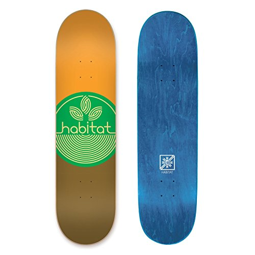 Habitat Skateboards Leaf Dot Pp Med - Assorted, 8.25 ()