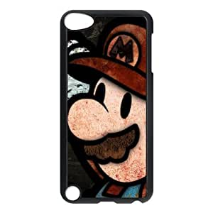Super Mario iPod Touch 5 Case Black Exquisite gift (SA_680304)