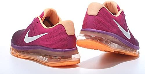 4e5b72f6419 Nike Airmax 2017 Purple Orange Running Shoes for Womens. Loading images.
