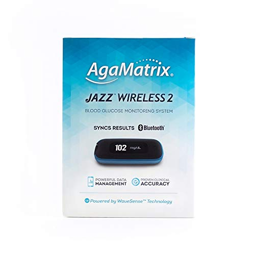 AgaMatrix Jazz Wireless 2 System Kit, 0.75 Pound