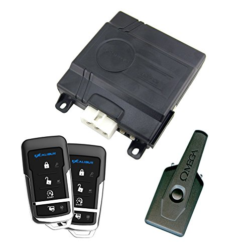 Excalibur (RS360EDPB) Deluxe Remote Start and Keyless Entry System (Car Starter Excalibur)