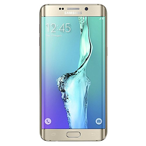 Samsung Galaxy S6 Edge Plus G928A 32GB Unlocked GSM - Gold Platinum (Renewed)