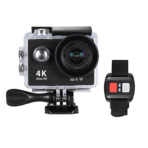 Andoer H9R アクションカメラ 4K 25fps 170°広角レンズ1080P 60fps フルHD 12MP 2 0 LCD 支持WiFi 防水 ダイビング水中30m スポーツカム カーDVの商品画像