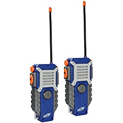 1 of Nerf Walkie Talkie Fun at the Touch of a Button, Set of 2, 1000 feet Range by Sakar