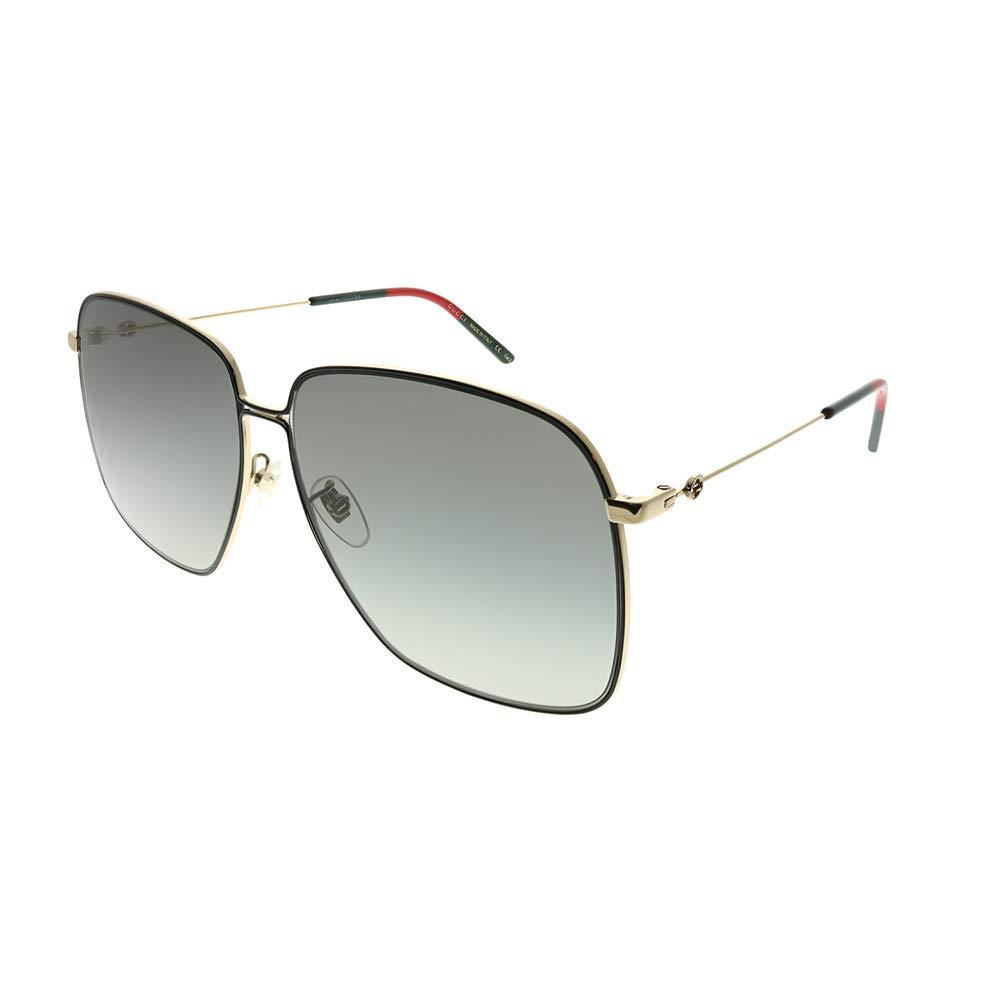 95bb9d5e5bdee5 HomeWomen FashionWomen s GlassesWomen s Sunglasses Gucci GG0394S Oversized  Square Woman s Sunglasses