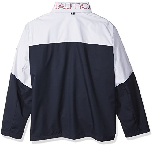 G81200 Navy Long Zip Front Sleeve Mens Blue Jacket Bomber Jacket True Nautica wxHqPS5
