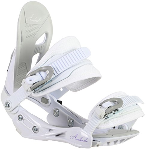 Lady Snowboard Bindings (Avalanche Serenity Snowboard Bindings Womens Sz M (7-10))