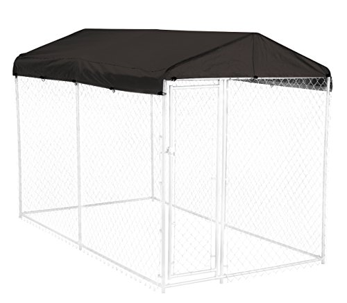 Dog-Kennel-Cover-WeatherGuard-Medium-All-Season-Dog-Run-Cover-Roof-Perfect-Fit-for-Lucky-Dog-5ft-X-10ft-Outdoor-Cages-and-Pens-5ft-X-10ft