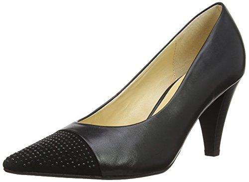 Gabor Brax - Zapatos De Tacón para mujer,  color black (black leather/suede), talla 40