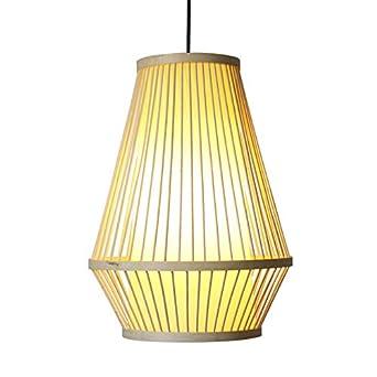 Máscara de linterna de bambú nueva lámpara de jaula de pájaro sin ...