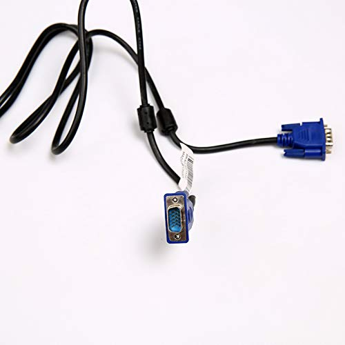 Modern VGA to Vega Cable 1.5 Meters 4+5 Blue Head Connecting Male to Male VGA Line