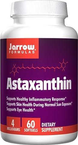 Jarrow Formulas Astaxanthin, Supports Eye Health, 4 mg,60