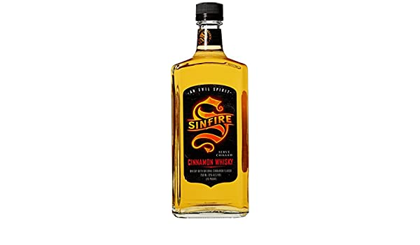 Sinfire Cinnamon Whiskey, 750 mL, 70 Proof: Amazon.com: Grocery & Gourmet Food