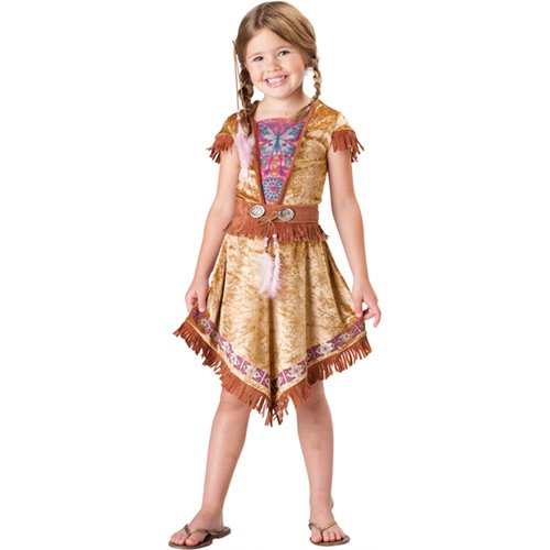 Indian Maiden Costume - Medium (Sacagawea Costumes For Kids)