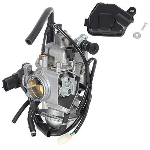 CCIYU Carburetor Fits 2005 2006 2007 2008 2009 2011 2012 2013 2014 Honda Foreman Rubicon 500 TRX500FA 4x4 Complete Carb Carburetor