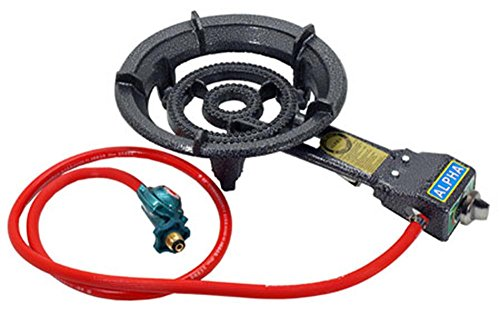 Alpha Electric Igniter Portable Propane Gas Stove Range ()