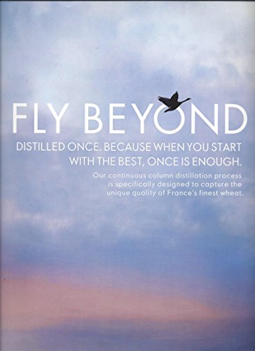 Large **PRINT AD** For 2015 Grey Goose Vodka Fly Beyond Flying Geese Scene Beyond Vodka