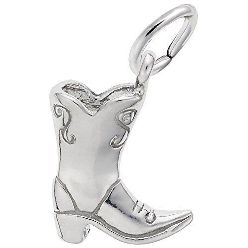 Rembrandt Charms, Cowboy Boot.925 Sterling ()