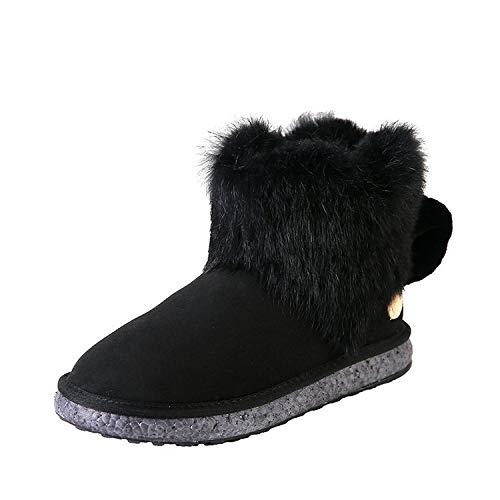 Shukun Stiefeletten Schneeschuhe Liebe Schneeschuhe Baumwolle Damenschuhe